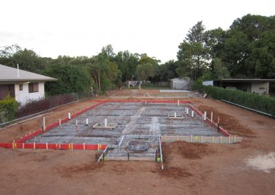 Rogan Building - foundations